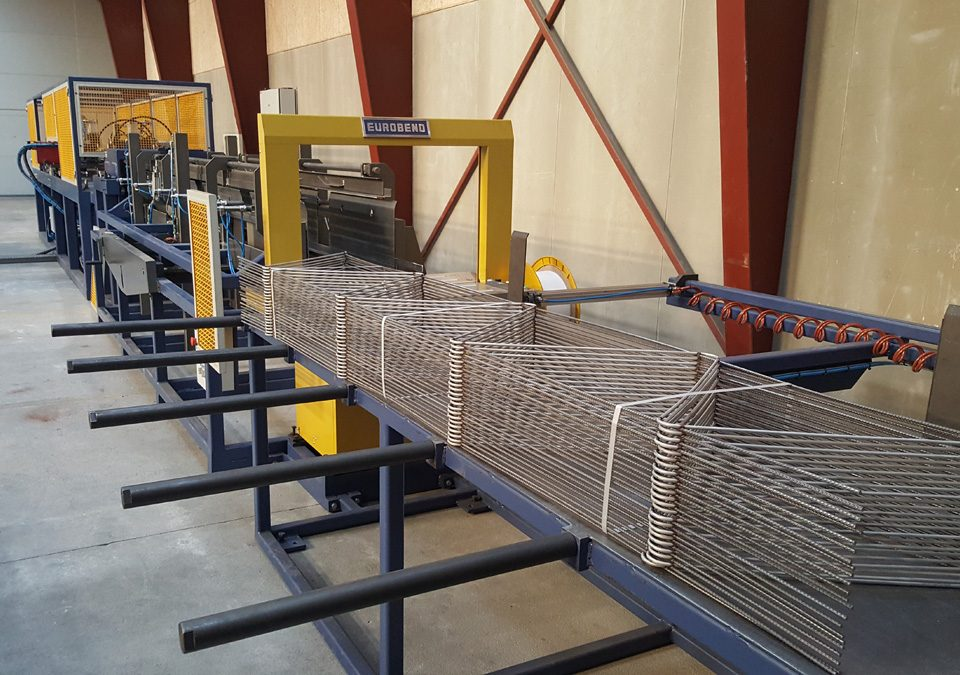 LATEST INSTALLATION OF PL TRUSS WELDING LINE AT PRETEC, IN DENMARK